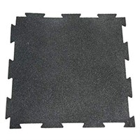 RUBBER CAL PUZZLE FLOOR TILES 10 PACK
