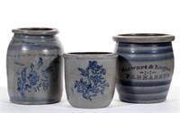 Pennsylvania stenciled stoneware
