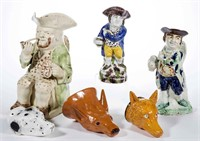 Selection of rare English ceramic forms, property deaccessioned by the Colonial Williamsburg Foundation, Williamsburg, VA, with all proceeds to benefit the Collections and Acquisition Funds, many examples ex-collection of C. B. Kidd