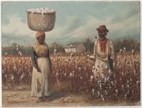 """William Aiken Walker (American, 1838-1921) Southern genre scene (c.1890), 9"""" x 12"""" sight"""