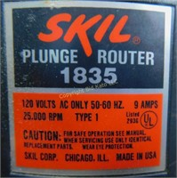 Craftsman Router And Skil Plunge Router Bid Kato