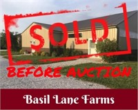SOLD! Basil Lane Farms Equestrian Facility Auction - Billing