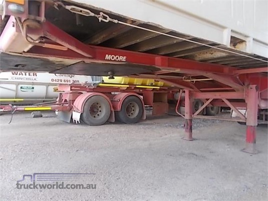 2006 Moore Skeletal Trailer Western Traders 87 - Trailers for Sale
