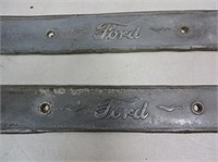 Pair of Antique Ford Step Plates