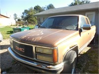 1991 ½ Ton GMC Extended Cab 4x4 Pickup