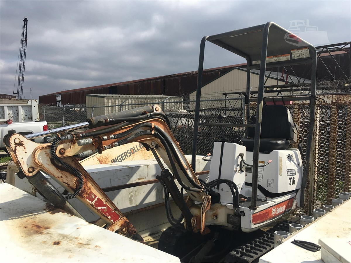 2008 Bobcat 316 For Sale In Metairie Louisiana Machinerytrader Com