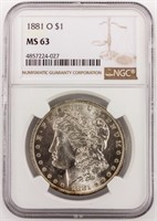 March 26th ONLINE Only Coin Auction