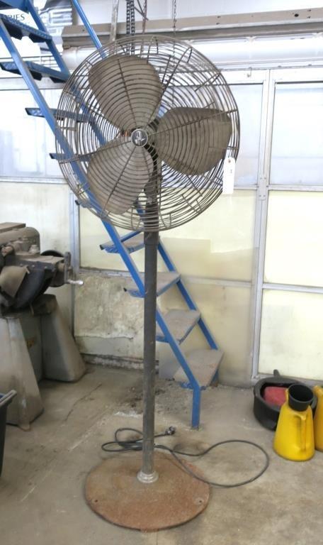 26 Emerson Commercial Floor Fan Hessney Auction Co Ltd