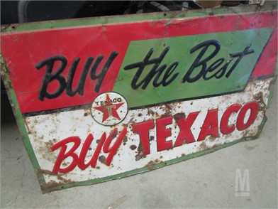30c7d61f954 Texaco Signage Business / Retail Auction Results - 1 Listings ...