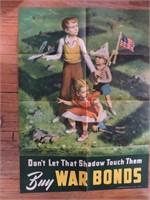 Vintage War Bond Posters