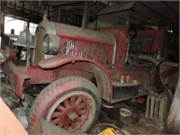 Antique Firetruck and Boat Auction