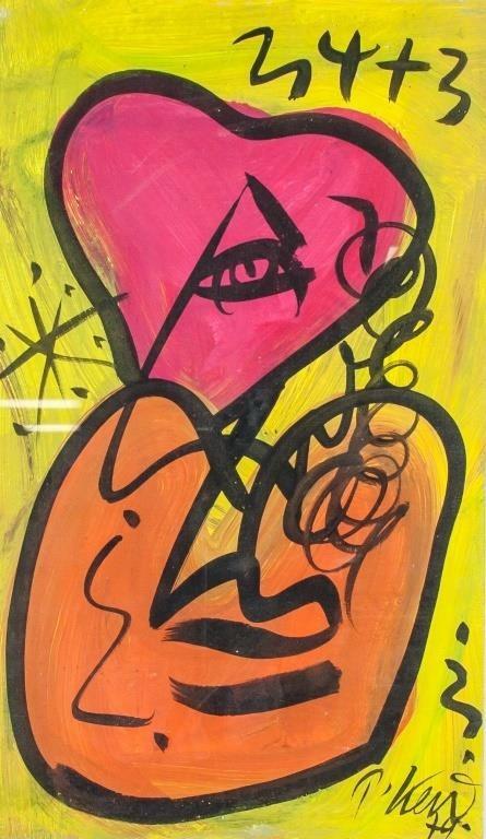 Attr  PETER ROBERT KEIL German b  1942 Oil Board | 888 Auctions