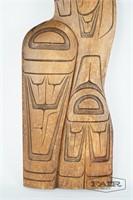 Tlingit carving by James Lewis