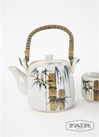 Japanese ceramic tea set