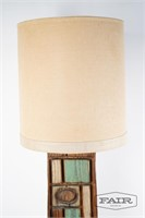 Oversized Witco style lamp