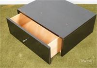 Black Paul McCobb drawer with original hardware