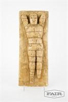 Di Leo Gerlando mounted plaster figure