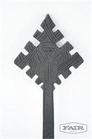 Hand carved wooden Ethiopian Coptic cross
