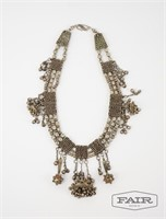 Turkish silver necklace