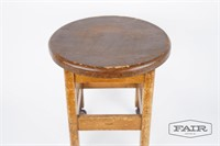 Antique stool from original Library of Congress