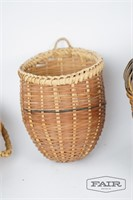 3 woven baskets