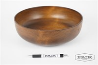 Wooden bowl made with wood from Vermont.