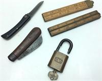 Vtg. Case Xx/ Vtg. Canoe Knife/best Lock