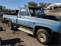 1982 chevy truck 4x4 parts