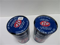 2 STP 1 quart oil cans | SHACKELTON AUCTIONS INC