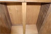 """Early 2 door cupboard.  38"""""""