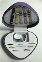 Royal Quartz Ladies Watch Set