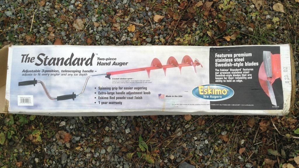 2 piece hand auger, made is USA | HiBid Auctions | Alaska