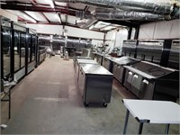 New Scratch & Ding Restaurant Equipment and MORE!