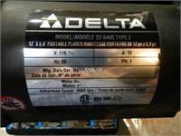 "DELTA 12"" PORTABLE PLANER"