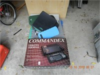 ASSORTED WORK PADS / MISC. / COMMANDEX TERMINAL