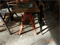 FOLDING ROTOR TABLE / WORKMATE