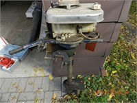 OUTBOARD BOAT MOTOR - 4 CYCLE