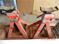 FLOOR CREEPER JACK STANDS - THRESHOLD RAMP