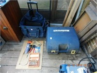 PORTABLE TOOL BAG / CONTENTS, LOT MASTERCRAFT