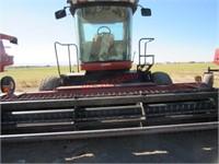 Hesston 8450 Swather 14' Hydro Head | JBS AUCTIONS