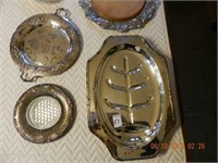 LOT ASSORTED SILVERPLATE