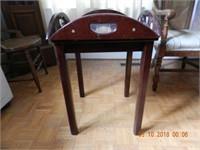 BUTLERS TABLE MAHOGANY FINISH
