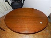 WALNUT OVAL VICTORIAN ERA PARLOR TABLE