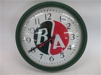 """BA repro clock.  14"""" diameter"""