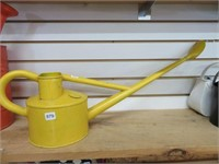 "Watering can.  8"" tall"