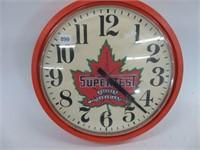 """Supertest repro clock.  14"""" diameter"""