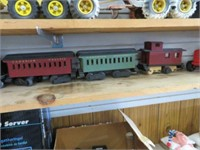 Canadian pacific wooden train set