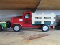Tin stake truck