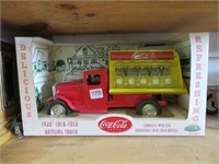 Gear box coca cola truck