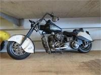 Decorative motorcycle